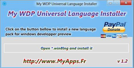 How To Add More Languages To Windows 8 Developer Preview