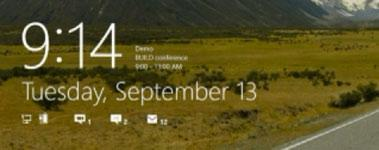 New Windows 8 Features Revealed: Lock Screen, RSS Tiles, Simplified Control Panel