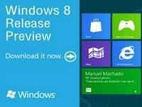 Windows 8 Release Preview Available For Download Despite A Week Before the Official Build Release