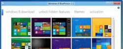Add 10 Windows 8 Themes To Customize Windows 8 Start Screen Using BluePoison