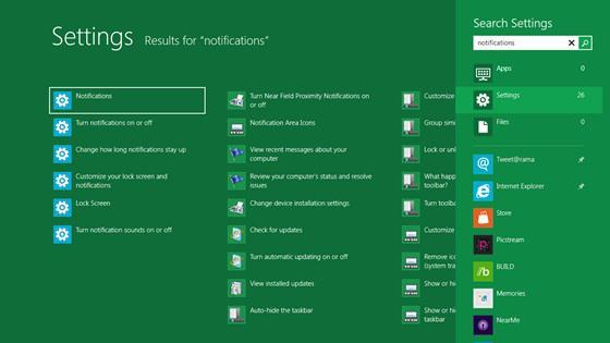 Microsoft: How To Search On Windows 8 – File Search, Settings Search, App Search