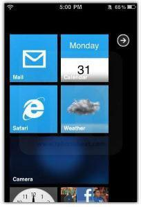 Windows 7 Theme For iPhone 3G / 4 (Download)