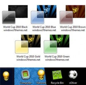5 Windows 7 World Cup 2010 Themes