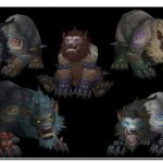 wow cataclysm worgen troll forms jpg