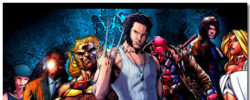 X Men Origins Wolverine Theme With 10 Backgrounds