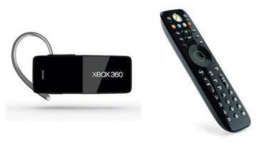 Microsoft Introduces New Media Remote And Bluetooth Headset For Xbox 360