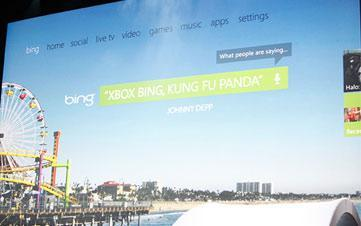 Kinect-Enabled XBOX 360 Dashboard With Youtube And Bing