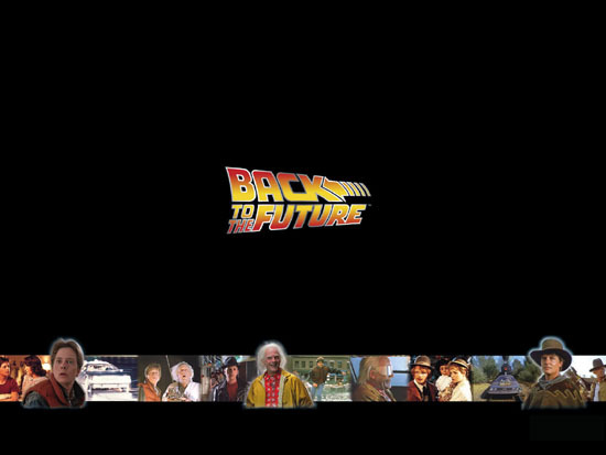 desktop themes of old movies back to the future wallpaper