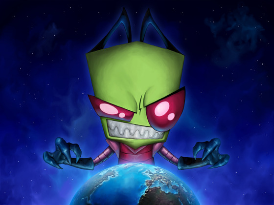 Invader Zim Windows 7 Theme For All Extraterrestrials