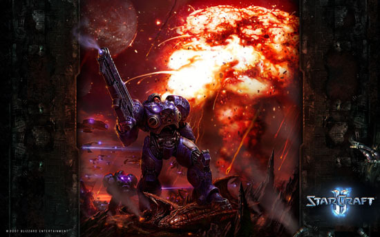 starcraft 2 wallpapers. Starcraft 2 Wallpaper