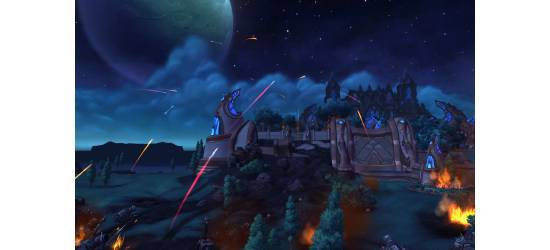 World of Warcraft Warlords of Draenor Theme With Icons